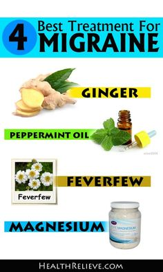 Menstrual Migraine Headache Natural Remedies
