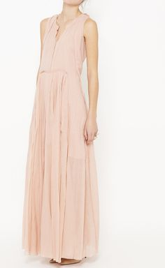 Maxi Dress, fashion, Vaunte, pink, spring 2014
