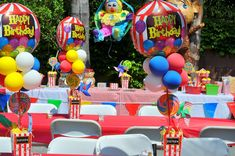 Circus /Carnival Party Birthday Party Ideas | Photo 16 of 19 | Catch My Party