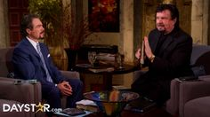 """Marcus Lamb & Dr. Mike Murdock at """"Heart of the World"""" [Daystar.com]"""