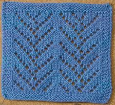 Learn about this awesome lace knitting stitch by Courtney Kelley called the…