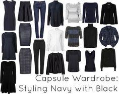 이미지 출처 http://www.wardrobeoxygen.com/wp-content/uploads/2014/02/capsule-wardrobe-navy-black-winter.jpg