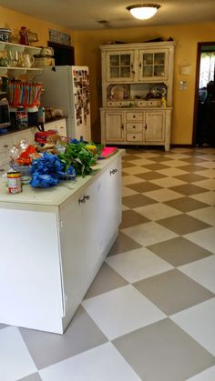How I Painted My Linoleum Floors The Virtuous Wife
