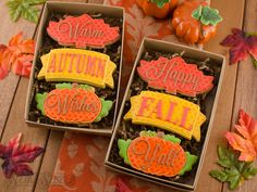 Fall Cookie Set by Semi Sweet Designs                                                                                                                                                                                 More