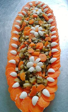 SALADAS DECORADAS:              Salada mista de conserv...