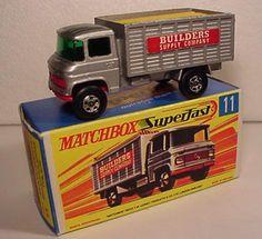 MATCHBOX macchinine giocattoli vintage anni 60 e anni 70Curiosando Negli ANNI 60 70 80 90