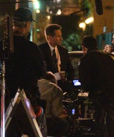 David Duchovny on the set of #Aquarius S2 #SamHodiak