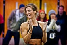 Andrea Ager takes the best workout pics