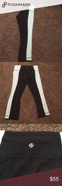 Lululemon Wunder Under Crops Lululemon Wunder Under Crops. Size 6. Great used condition. These are like a sea foam. There is another pair of these in my closet that is a peach color. Let me know if you have any questions ! Feel free to offer lululemon athletica Pants Leggings