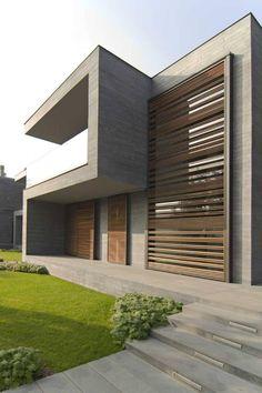 Contemporary Architecture Design contemporary bedroom for men. Architecture Design, Facade Design, Residential Architecture, Contemporary Architecture, Amazing Architecture, Exterior Design, Contemporary Building, Facade House, Modern Exterior