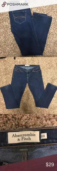 A&F Erin Style Skinny/Stretch Jeans Size 6R Abercrombie & Fitch Denim Jeans  ✔️Erin Style  ✔️Skinny legs ✔️Stretch ✔️Size 6R ✔️78%cotton/22% polyester Abercrombie & Fitch Pants Skinny