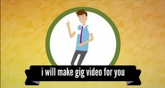 make BEST Fiverr gig video by creative_king7