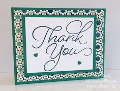 Stampin' Up! Moroccan Designer Series Paper - Stamping With Tracy Diy Cards Thank You, Free Gift Cards, Shower Hostess Gifts, Christmas Thank You, Stamping Up, Rubber Stamping, Homemade Cards, Stampin Up Cards, Card Making
