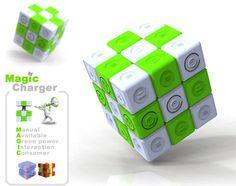 Magic Charger, ideato dal designer Zheng Weixi, è un #cubo molto simile al famoso #CubodiRubik ma unisce divertimento e logica con la protezione dell' ambiente.   Permette di creare #energia verde sfruttando la rotazione del cubo.   #Energie alternative su @marraiafura
