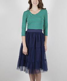 Look what I found on #zulily! Blue NY Dress by Down East Basics #zulilyfinds