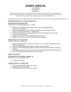 Classic Resume Template Sridhar Keshava Sridharkeshava On Pinterest