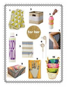 holiday gift guide for her via kishani perera blog