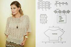 Crochet treasure trove: Poncho Sweaters