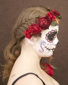 My Day of the dead make up and hair