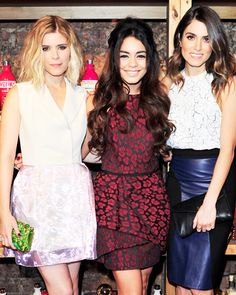 Celebrity Parties: January 31 to February 6, 2014 - Kate Mara, Vanessa Hudgens and Nikki Reed