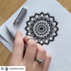 "#Repost @nataliemxart with @repostapp. ・・・ Where's my thumb? :D (""Mandala XLII"") (▶ Greenleaf - Golden Throne) { #art #illustration #drawing #draw #TagsForLikes #picture #artist #sketch #sketchbook #paper #pen #pencil #artsy #instaart #beautiful #instagood #gallery #masterpiece #creative #photooftheday #instaartist #graphic #graphics #artoftheday #mandala #zenart #zentangle #zendoodle }"