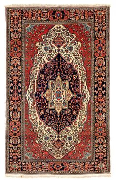 Kashan Persia, ca. 1870 6ft. 8 in. x 4ft. 2 in.
