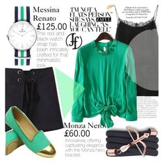 """Black and Green"" by vanjazivadinovic ❤ liked on Polyvore featuring Monza, polyvoreeditorial, Poyvore, zaful and francoflorenzi"