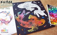 """Recently I was introduced to a new form of textured painting called salt painting. Basically, you take glue cover it with salt, then drop watercolors on top to absorb the color. Well, can I just say, """"Wowza!"""" This is such a fun technique and it creates beautiful art work that children can really be proud …"""