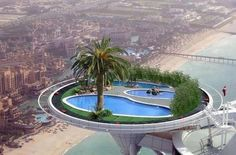 Pool at the Burj al Arab  Dubai