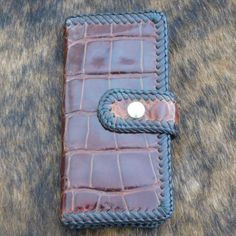 Betty Buckaroo Alligator Wallet