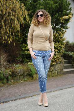 Sea of Teal: Jeans&Polkadots