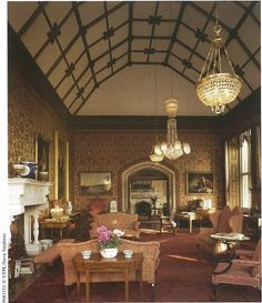 Image result for inside a british manor house