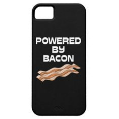 Powered By Bacon iPhone5 Case iPhone 5 Cover