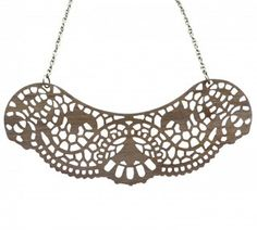 Lace Collar Pendant from Hard to Find...love...and only $40