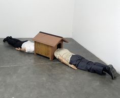 "Erwin Wurm ""Confessional"" 2003"