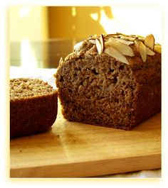 Breakfast-Worthy Banana Bread: This Recipe is Vegan, Dairy-Free, Egg-Free, Soy-Free, Sugar-Free, Optional Nut-Free, and adapted to be Gluten Free