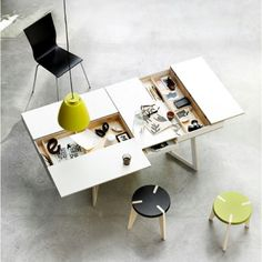 I love furniture that is so smart and multi-purpose!