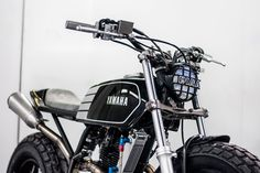 You like? Yamaha TW200 Street Tracket by Wolf Moto - Photos by Mickey Burnett #motorcycles #streettracker #motos | caferacerpasion.com