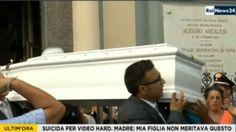 Image copyright                  Rai News24 Image caption                                      El funeral de Tiziana fue emitido en vivo por televisión, el 15 de septiembre de 2016.                                Tiziana Cantone había luchado durante meses para que se retirara de internet un video en el que se la veía teniendo relaciones sexuales. Pero las imágenes nunca dejaron de estar disponibles en la red, siendo vistas por cientos de