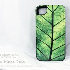 Unique iPhone 4 case - iphone 4s case - Leaf of Knowledge - TOUGH CASE
