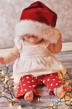 There is something magical about baby's first Christmas. I have had a newborn and a 8-month-old at Christmas time and both times they have been a holiday to remember. With my first, she was so brand new at Christmas time and we had such a struggle with her eating at first that my mind was …