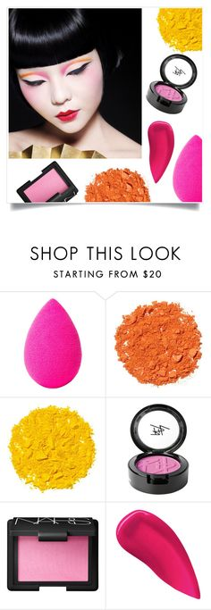 """""""Oriental Beauty"""" by tina-pieterse ❤ liked on Polyvore featuring beauty, beautyblender, Illamasqua, Beauty Is Life, NARS Cosmetics, Kevyn Aucoin and orientalbeauty"""