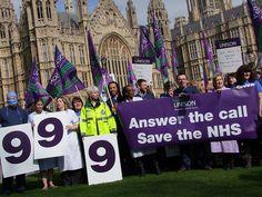 UNISON NHS protest