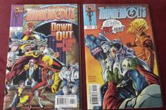 Thunderbolts #13 & #14 Marvel's most wanted 1998 Baron Zemo 2 Comic Book lot