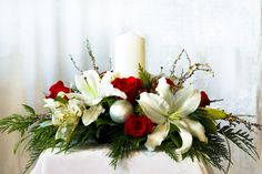 christmas flower designs | Kelowna Florist BC Christmas Flowers
