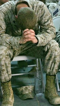 I pray for the men and women serving our country.....they are the bravest military on earth!