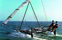 """Wing of the """"Kasperwing"""" in sailing? - Page 2 - Boat Design Forums Cool Boats, Small Boats, Utility Boat, All About Water, Outrigger Canoe, Small Sailboats, Cabin Cruiser, Yacht Boat, Boat Design"""