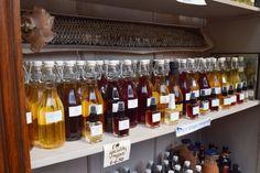 Vinegar Bottles Borough Market London | The LDN Diaries