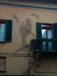 Lucio Dalla's office window