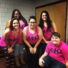 On Wednesdays, we wear pink #WhyAPhiOIotaRho at Florida State University
